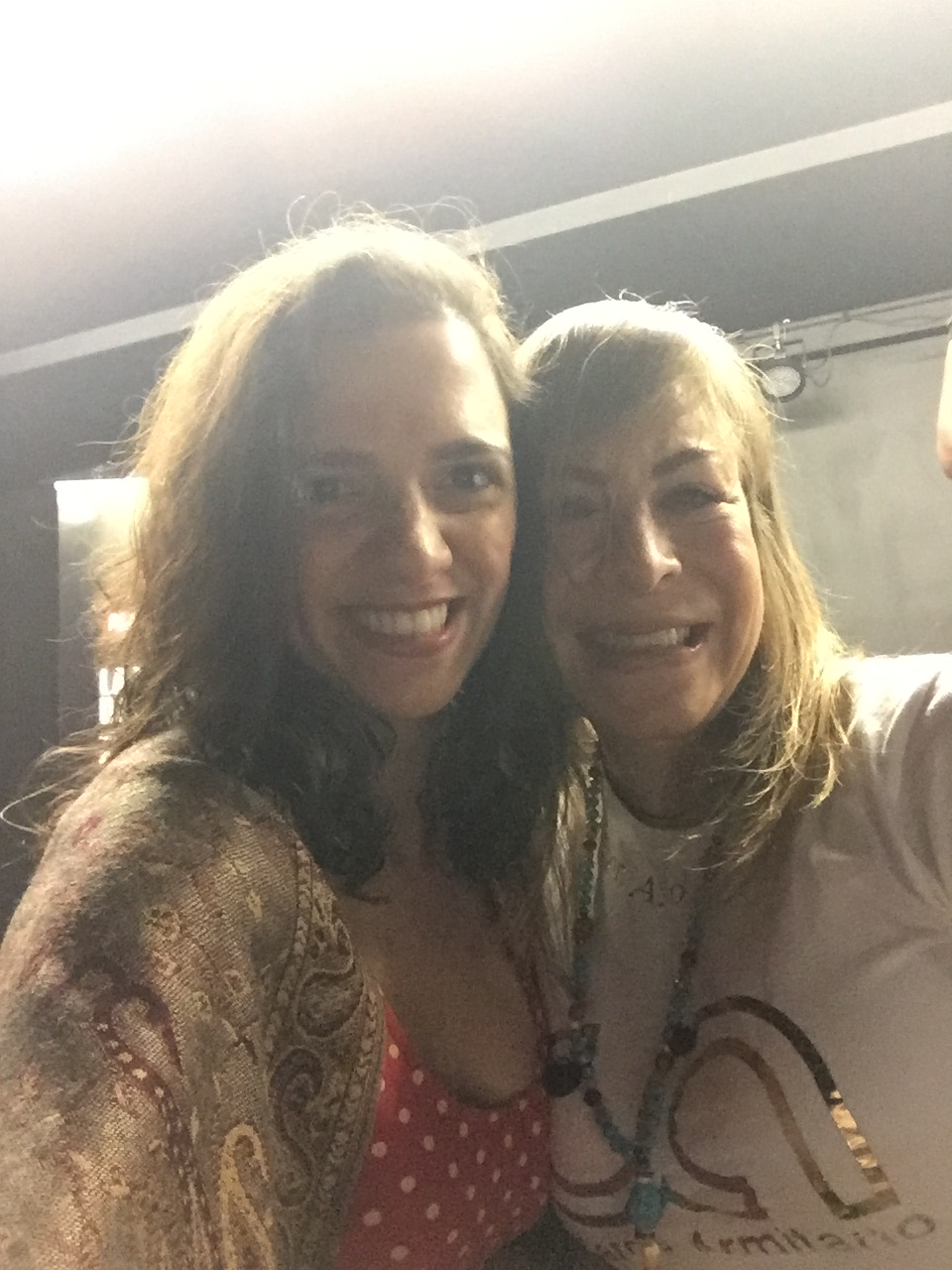 Con la maravillosa Carola